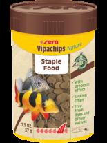 Sera Vipachips Nature - основна храна за дънни декоративни рибки без оцветители и консерванти - 100 мл.