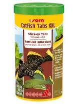 Sera Catfish Tabs XXL - основна храна за големи дънни риби - 120 гр.
