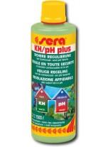 Sera kH/pH Plus - За безопасно повишаване карбонатната твърдост (kH) и pH на водата в аквариума - 100 ml.