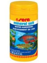 Sera Mineral salt - препарат за безопасно обогатяване с минерали на водата в аквариума - 280 гр.