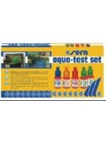Sera Aqua Test Set - Тестовов комплект за определяне нивата на: pH ( 4,5 до 9.0); GH; KH; NO2 на водата в аквариума
