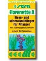 SERA Florenette A - тор за аквариумни растения  -  24 броя таблетки