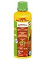 Sera - flore 2 ferro - течна добавка с желязо за аквариумни растения - 50 ml.
