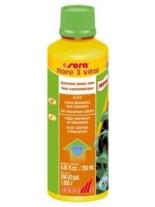 Sera - flore 3 vital - подсилваща течна добавка за аквариумни растения - 250 ml.