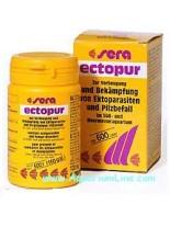 Sera ectopur - подпомага лечението на ектопаразити и гъбички по аквариумните рибки - със заявка - 130 гр.