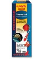 Sera med Professional Tremazol - препарат за борба хрилни и кожни метили по декоративните и езерни рибки - 100 мл.