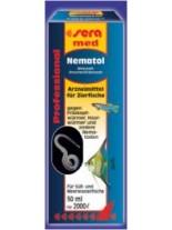 Sera med Professional Nematol - препарат за лечение на нематоди и кръгли червеи по аквариумните рибки - 10 ml.