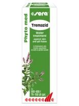 Sera Phyto med Tremazid - Ефективен медикамент срещу метили по кожата и хрилете на аквариумните, езерните и морските риби - 30 мл.