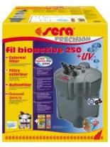 Sera fil Bioactive 250 + UV - външен филтър за аквариум с UV и капацитет от 250 до 750 л/ч., подходящ за аквариуми до 250 л.