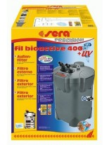 Sera fil Bioactive 400 + UV - външен филтър за аквариум с UV и капацитет до 1100 л/ч., подходящ за аквариуми до 400 л.