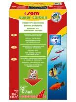 Sera - филтърен материал за аквариумни филтри от активен въглен - 35 гр.