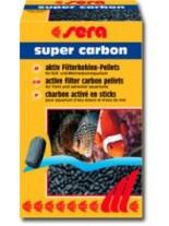 Sera - материал за аквариумни филтри от активен въглен - 250 гр.
