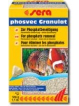 Sera phosvec Granulat - материал за аквариумни филтри от фосвек гранулат - 500 гр.