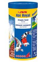 Sera KOI ROYAL Medium - балансирана храна за средни кои и други средни езерни рибки - 1000 мл.