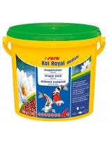 Sera KOI ROYAL Medium - балансирана храна за средни кои и други средни езерни рибки - 3800 мл.