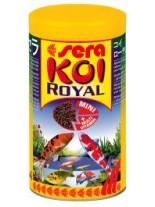 Sera KOI ROYAL Medium - балансирана храна за средни кои и други средни езерни рибки - 21 000 мл.