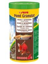 Sera Pond granulat - балансирана всекидневна гранулирана храна за кои - 1000 ml.