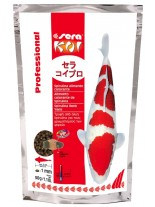 Sera koi proffesional spirulina food - гранулирана храна за кои със спирулина за наситен цвят - 0,500 кг.