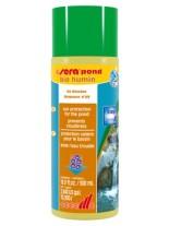 Sera Pond Bio Humin - за защита от слънчева светлина на  градински езерца - 5000 мл. - доза - 14 мл. за 280 л. вода