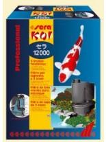 SERA Koi 12000 Professional - Тристепенен, високо ефективен и влагоустойчив филтър за езеро с обем до 12 000 л.
