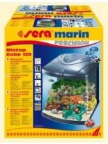Sera marin Biotop Cube 130 - оборудван  морски аквариум  с обем 130 литра и размери - 52х52х65 см.