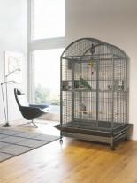 Savic Karumba Bow - Клетка за средни папагали, 100,0 x 80,0 x 187,0 см.