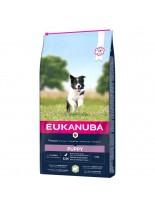 Eukanuba Puppy All Breeds Lamb & Rice - All Breeds  - суха храна за подрастващи кучета до 1 година от всички породи с агне и ориз - 15 кг.