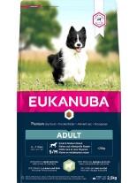 Eukanuba Adult Small & Medium Breed lamb and rise - суха храна за възрастни кучета над 1 година от дребните и средни породи (до 25 кг.) с агне и ориз - 18 кг.