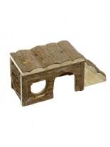Karlie Skippy -  Дървена къщичка за чинчила, зайче, порче - 40х18х16 см.