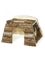 Karlie Billy -  Дървена къщичка за морско свинче или малко зайче - 25х17х17 см.
