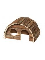 Karlie Kim -  Дървена къщичка за гризачи - 15х9.5х9 см.