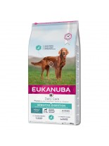Eukanuba Daily Care Sensitive Digestion - суха храна за кучета от всички породи над 1 година с чувствително храносмилане - 2.5 кг.