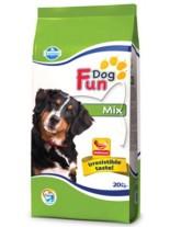 Fun Dog Mix 22/9 - суха, гранулирана храна за кучета в зряла възраст с нормална физическа активност - 20 кг