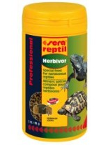 Sera Reptil Professional Herbivorous - суха храна за растителноядни влечуги - 250 мл