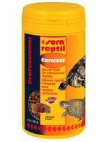 Sera Reptile Professional Carnivorous - суха храна за месоядни влечуги - 250 мл.