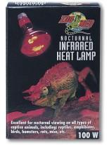 Zoo Med 100 В - Нощна инфраред нагряваща лампа - 100 W