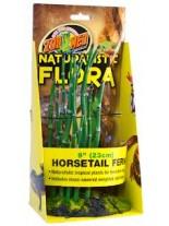 Zoo Med Naturalistic Flora™ Horsetail Fern - тропическо растение с тежка основа с мъх, 22 см.