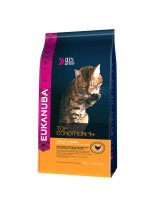 Еukanuba Adult Chicken&Liver - суха храна за възрастни котки над 1 година с пиле и дроб - 4 кг.