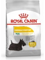 Royal Canin MINI Dermaconfort – суха гранулирана храна за красива козина,  за кучета от дребните породи(до 10 кг.) над 10 месеца -  0.800 кг.