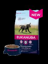 Eukanuba Puppy Large Breed CHICKEN - суха храна за подрастващи кученца до 1 година от едрите и гигантските породи (над 26 кг) - 15 кг.