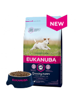 Eukanuba Puppy Small Breed CHICKEN - суха храна за подрастващи кученцата до 1 година от малките породи  - 1 кг.