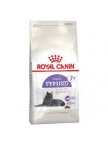 Royal Canin Sterilised + 7 – суха гранулирана храна за кастрирани котки над 7 години склонни към затлъстяване - 1.5 кг.