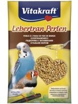 Vitakraft lebertran perlen - витаминозни перли с рибено масло за вълнисти папагали - 20 гр.