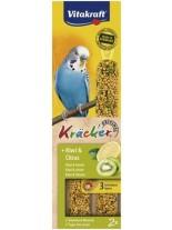 Vitakraft kräcker klassik kiwi - крекер за вълнисти папагали с киви - 2 бр. - 85 гр.