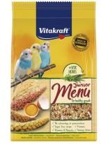 Vitakraft Premium Menu Junior - Храна за вълнисти подрастващи вълнисти папагали - 0.500 кг.