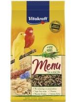 Vitakraft Premium Menu Vital - Храна за канарчета с мед - 1.0 кг.