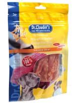 Dr. Clauder's - Filet Strips /pre biotik/ - меки ленти със 100% месо от пилешки гърди - 80 гр.