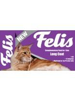 Felis Long Coat Cats - пълноценна формула за дългокосмести котки с Омега 6 мастни киселини за изящна и пухкава козина - 15 кг.