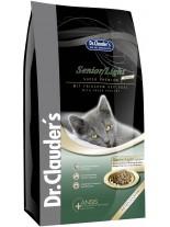 Dr. Clauder's - Super Premium Cat Senior/Light Sterilized – Супер премиум суха храна за възрастни, кастрирани или котки с наднормено тегло над 1 година с пиле и риба - 2 кг.