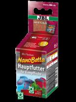 JBL Nano Betta - основна балансирана суха храна за бети и други бойни рибки в нано аквариуми - 60 мл.